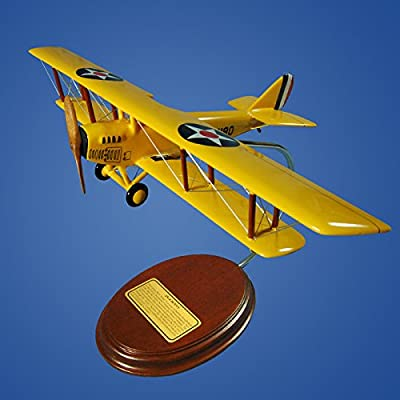 Mastercraft Collection Jn-4 Jenny Wood Model Aircraft Model
