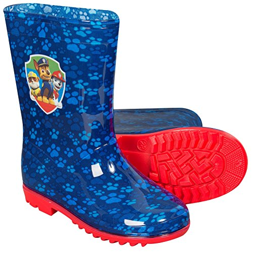 Paw Patrol Kinder Gummistiefel PVC Schuhe Kinder Mädchen Jungen Rosa Blau Chase Skye Blau Chase Schutt Marshall