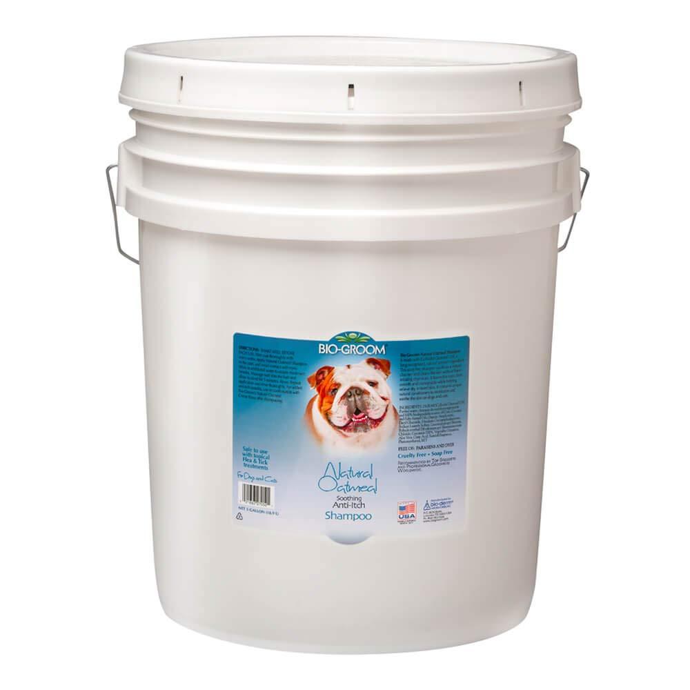 Bio-Groom 27051 Burgham Nat Oatmeal Shampoo 5Gal