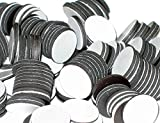 BYKES Magnets 3/4' Round Disc with Adhesive Backing - 200 Pcs