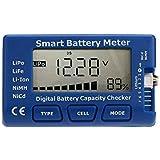 TOMTOP Smart Digital Battery Capacity Checker for LiPo LiFe Li-ion NiMH NiCd Battery