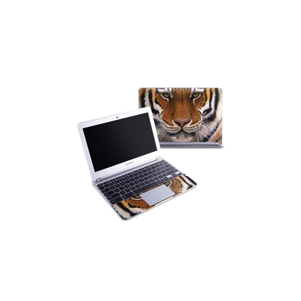 Siberian Tiger Design Protective Decal Skin Sticker (Matte Satin Coating) for Samsung Chromebook 116 inch XE303C12 Notebook Computers & Accessories