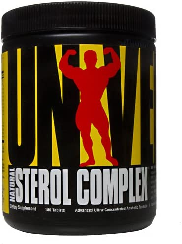 Universal Nutrition Natural Sterol Complex – 180 Tablets