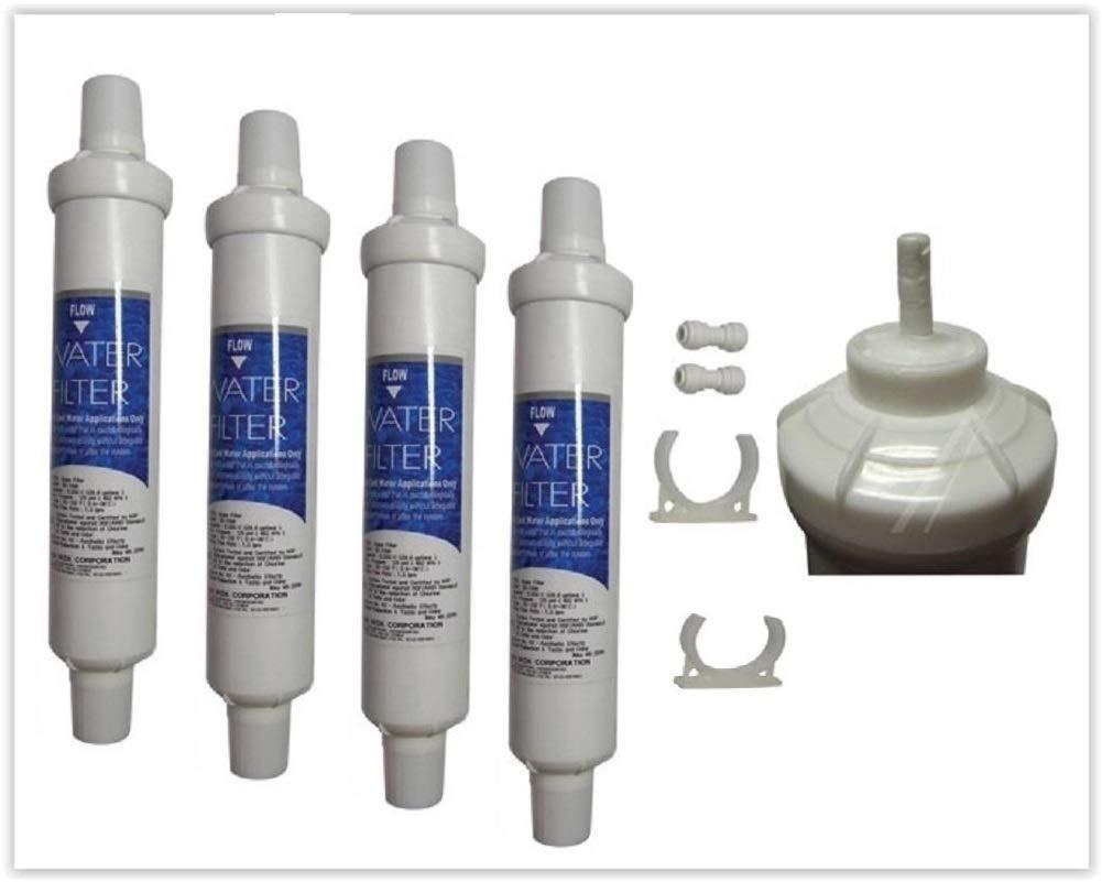 Daewoo DD7098 Pack de 4 filtros de agua para: Amazon.es: Hogar