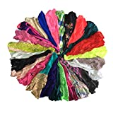 Embek Cute Underwear for Women Varieties of Silk G-String T-Back Lace Thong Sexy Panties(Medium 12 Pcs)