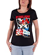 Officially Licensed Merchandise Optimus Prime Distressed Girly T-Shirt