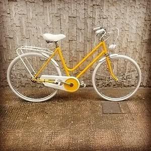 Bicicleta Holanda 26 x 1 – 3/8 amarilla blanca negra rosa fucsia Crema Marrón Azul Ross: Amazon.es: Deportes y aire libre
