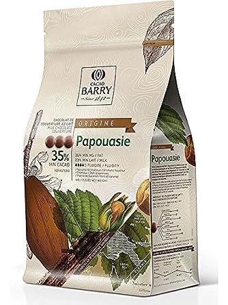 BARRY Papouasie 36% de chocolate de cobertura con leche 1 KG: Amazon.es: Alimentación y bebidas
