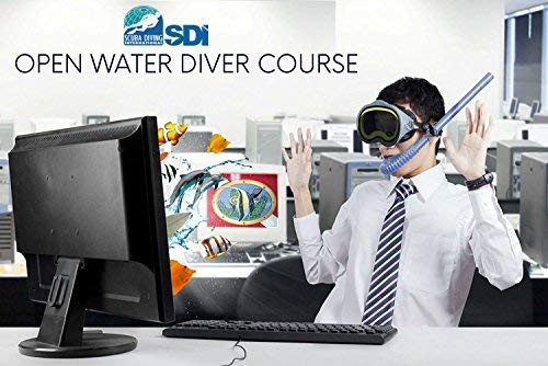 (Learn to Scuba Dive Online & Finish with Any Padi, SDI, NAUI or SSI Instructor. Scuba Divers International Open Water Certification)