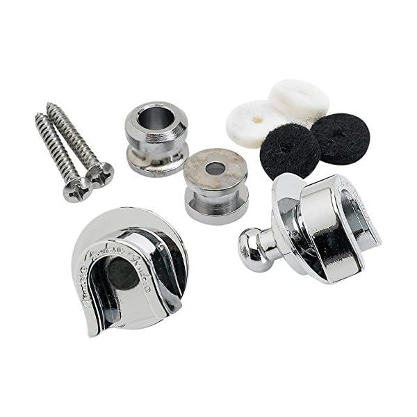 Fender Schaller Strap Locks Chrome – Pack of 2