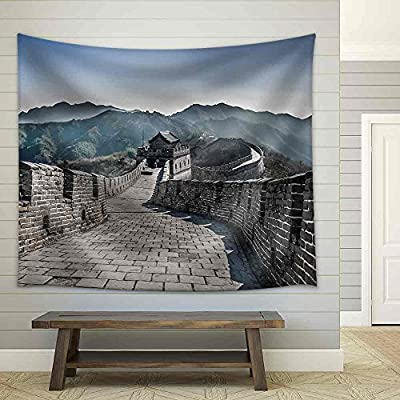Grand Object of Art, The Great Wall at Mutianyu Fabric Wall, Classic Design