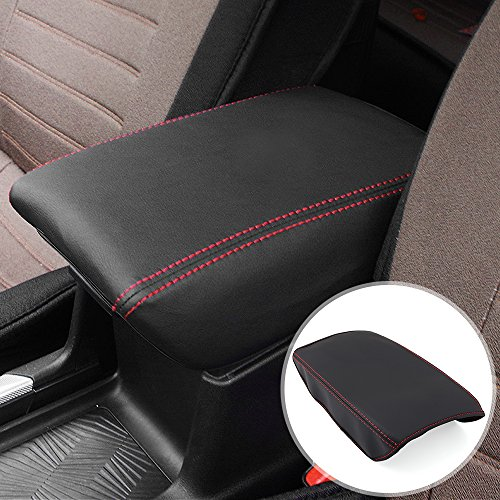 AndyGo Car Armrest Cover Car Center Console Armrest Pad Cover Saver Fit for Honda CRV 2017 ()