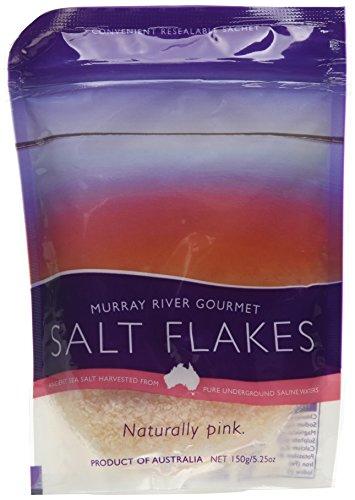 b4fb48f6d38 Murray River Salt Sea Salt Flakes in Pouch 150 g (Pack of 2)