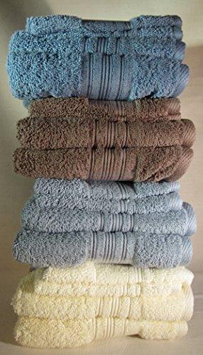 Charisma Luxury Bath Towel - 100% Hygro Cotton, Spring 2016 Colors (Hand Towel/Wash Cloth Blue) by Charisma