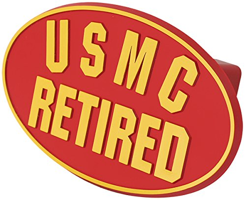USMC Retired ABS Hitch Cover with Quick ()