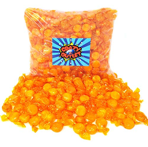 CrazyOutlet Pack - Butterscotch Disks Hard Candy Buttons, Old School Candy Individually Wrapped, 2 ()
