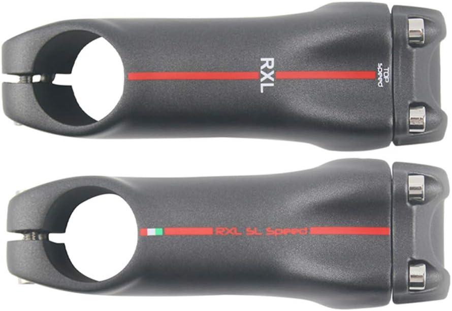 RXL SL Carbonfaser rennrad vorbau /Ø 31.8 Carbon vorbau rennrad 6//17grad 70//80//90//100//110//120//130mm MTB Fahrrad Vorbau
