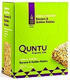 Quntu Quinoa Fruit Bars, Banana & Gold Raisins – 6 Bars Review