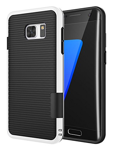 Slim Rugged Shockproof TPU Case For Samsung Galaxy S7 Edge (Black) - 2