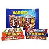 British Chocolate Varierty Mix. Rolos, Aero, Munchies, Drifter, Toffee Crisp, Kit Kat, Yorkie