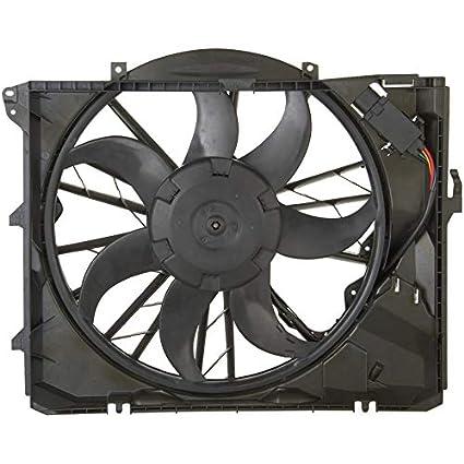 Amazon.com: WIGGLEYS 600 watt RADIATOR FAN ASSEMBLY BM3117101 w/4 prong plug FITS 06 07 08 09 10 11 12 13 BMW 3-SERIES A/T: Automotive