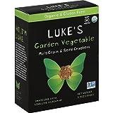Luke's Organic Gluten Free Garden Vegetable MultiGrain & Seed Crackers 3.5 oz (Pack of 3)