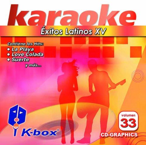 KBO-33 xitos Latinos Xv(Karaoke)