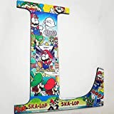 Super Mario, Wall letters, wood names, boys room, Girls room, nursery letters, Decorative letters, baby letters, kids room, customize, decor