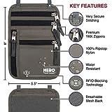 HERO Neck Wallet – RFID Blocking Passport Holder
