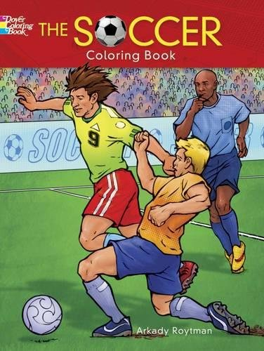 The Soccer Coloring Book (Dover Coloring Books)
