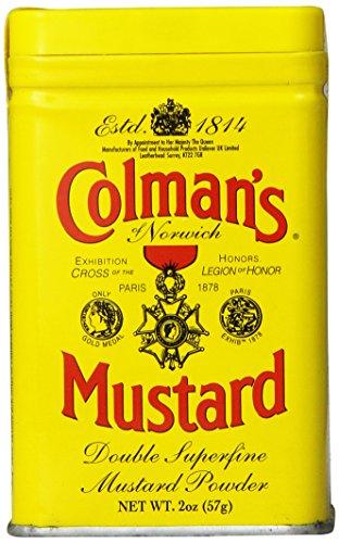 Dried Mustard (Colman's Dry Mustard, 2 oz)