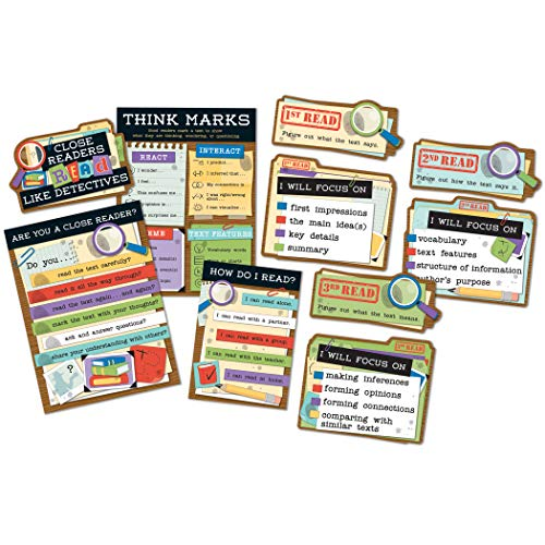 - Carson Dellosa Close Reading Bulletin Board Set (110381)
