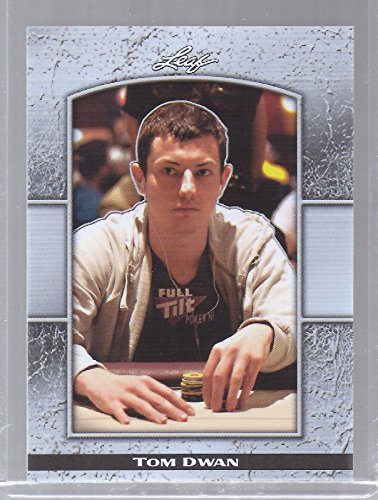TOM DWAN 2011 LEAF NATIONAL CONVENTION LIMITED EDITION CARD! 7 of 9! (Best Of Tom Dwan)