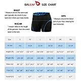 BALEAF Men's Bike Cycling Underwear Shorts 3D