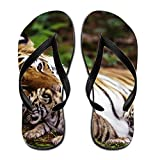 Terenccam Performance Women Animal Tiger 11 B(m) Us Rubber Sandal