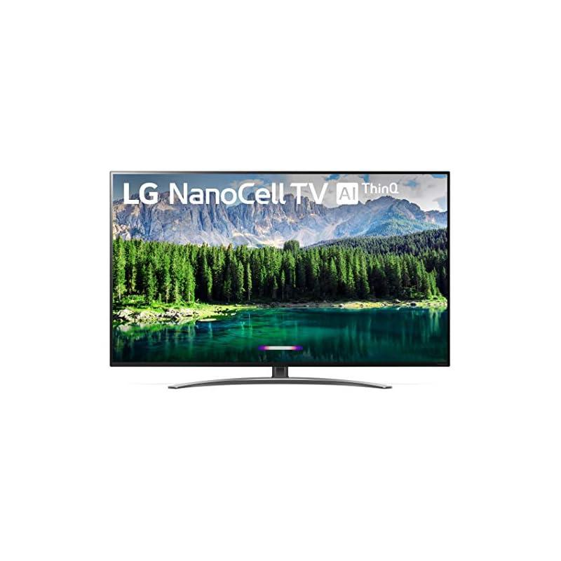 "LG 49SM8600PUA Nano 8 Series 49"" 4K Ultra HD Smart LED NanoCell TV (2019), Black"