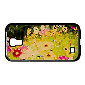 Flowers, Soustons, France Watercolor style Cover Samsung Galaxy S4 I9500 Case (France Watercolor style Cover Samsung Galaxy S4 I9500 Case)