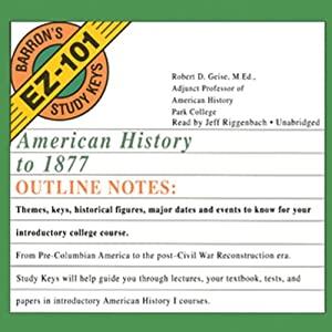 American History to 1877 Audiobook