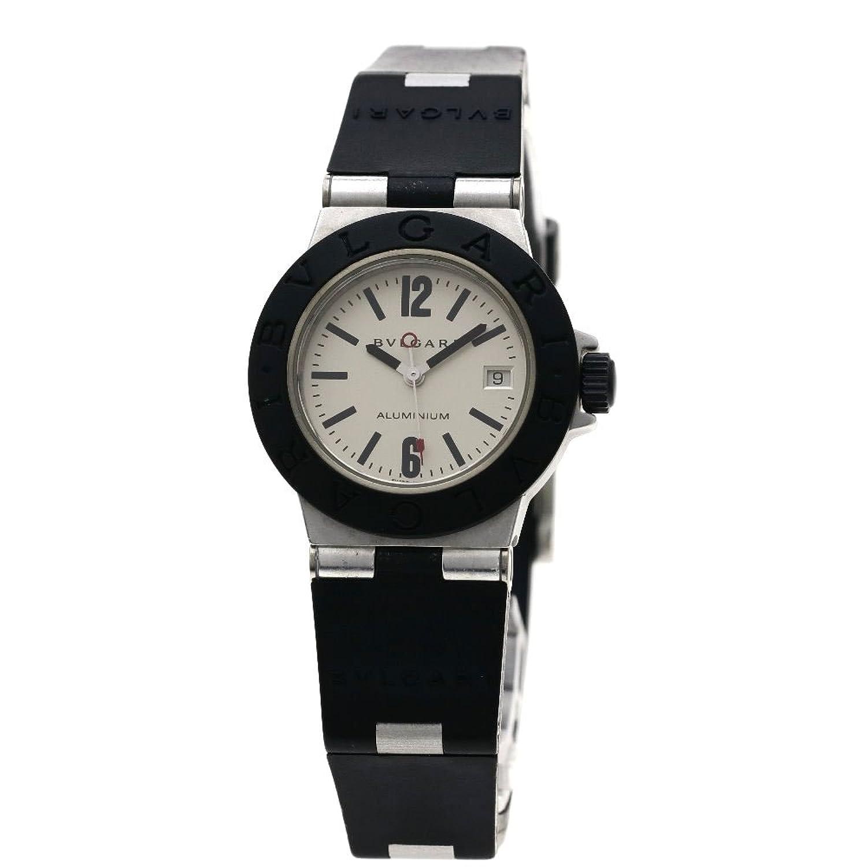 [ブルガリ]アルミニウム 腕時計 アルミ/ラバー レディース (中古) B07DN4Y8NQ