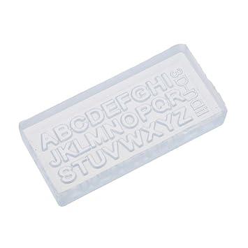 Amazon So Beauty Capital Letters 3d Acrylic Nail Art Mold Diy