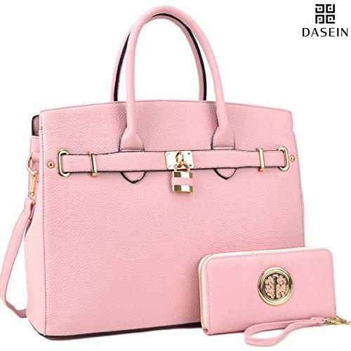 Pink Satchel Handbags - 2