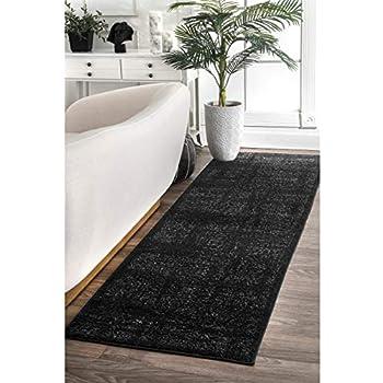 Amazon Com Nuloom Agoja Hand Tufted Wool Runner Rug 2 6