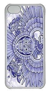 Blue Eagle Polycarbonate Hard Case Cover for iPhone 5C Transparent