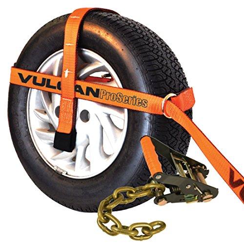 Orange Pro Series Adjustable Loop Tie Down W/ Chain Ratchet (Individual)£¨Wheel Not Included£