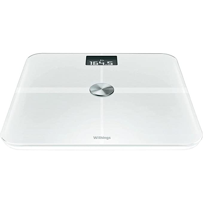 Withings Smart Body Analyzer - Báscula multifunción con Wi-Fi, color blanco: Amazon.es: Salud y cuidado personal