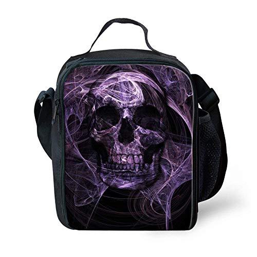 small 4 de Nopersonality mochila unidades Skull y Purple 2 Juego fiambrera Skull aR076qw