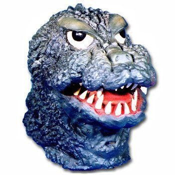 Godzilla Mask (japan import) by Ogawa Studio]()