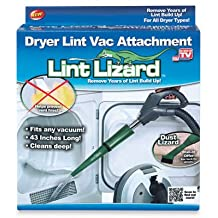As Seen On TV 6057-12 Lint Lizard Flexible Vacuum Hose