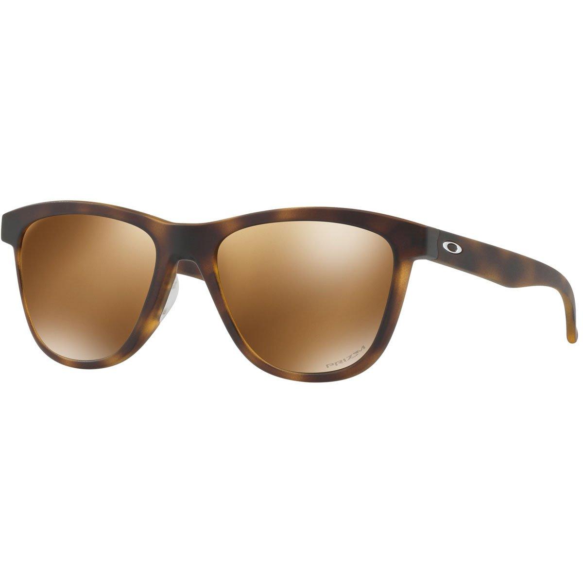 Oakley Women's Moonlighter Sunglasses, Matte Tortoise/Przm Tungsten Pol,OS