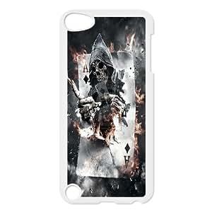 [QiongMai Phone Case] FOR Ipod Touch 5 -Skull Art-IKAI0447069